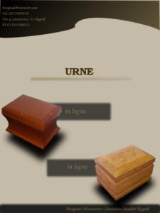 Urne in legno_cremazioni napoli